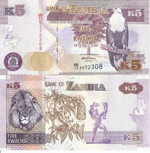Zambia 2 Kwacha Note - available for purchase at robertsworldmoney.com