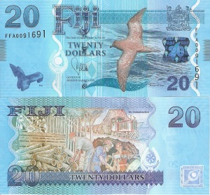 Fiji 20 Dollar Note