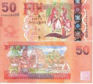 Fiji 50 Dollar Note