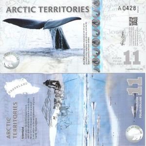 Arctic Territores 11 Dollar Note