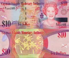 Cayman Islands10 Dollars p40a