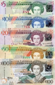 East Caribbean States 5-100 Dollars pick new 2008-2012