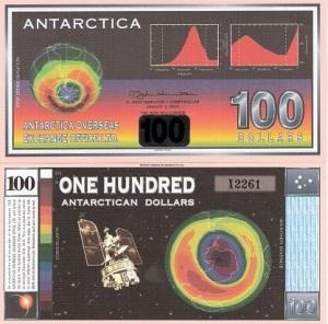 Antarctica 100 Dollars p19 Banknote