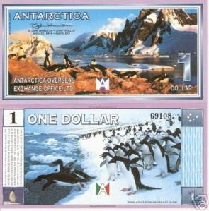 Antarctica 1 Dollar p8 Banknote