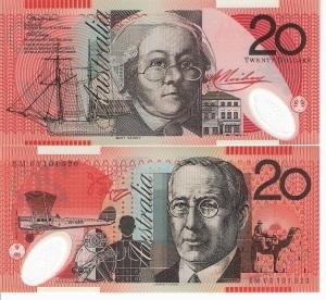Australia 20 Dollars p53c
