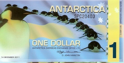 Cold hard cash from Antarctica – Part 1 – Roberts World Money