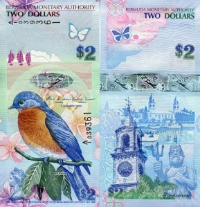 Bermuda 2 Dollars - available for purchase at robertsworldmoney.com