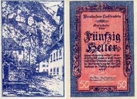 Liechtenstein 50 Heller - available for purchase at robertsworldmoney.com