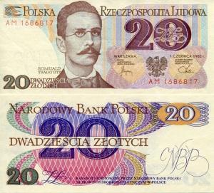 Poland 20 Zlotchy p149