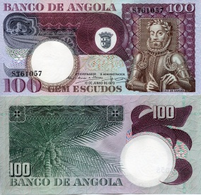 Angola 100 Escudos - available for purchase at robertsworldmoney.com