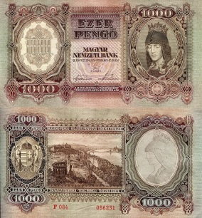 Hungary 1,000 Pengo - available for purchase at robertsworldmoney.com