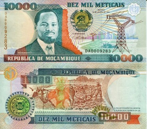 Mozambique 10,000 Metacais - available for purchase at robertsworldmoney.com