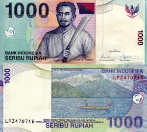 Indonesia 1000 Rupiah p141a
