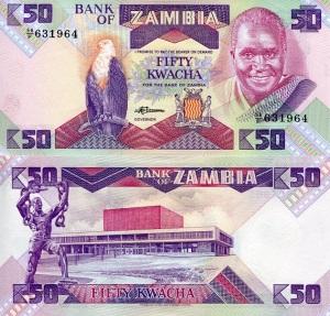 Zambia 50 Kwacha p28