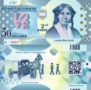 Pennsylvania $50 fun noterobertsworldmoney.com
