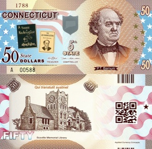 Connecticut $50 Banknote