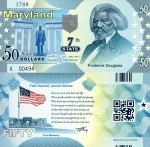 Maryland State $50 fun note