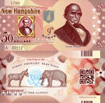 New Hampshire $50 fun note