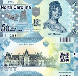 North Carolina $50 State Banknote