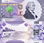 South Carolina $50 Fun Note