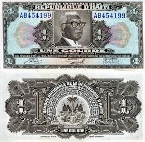Haiti 1 Gourde p200 1919