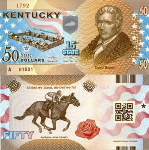 Kentucky 50 Dollar Fun Note