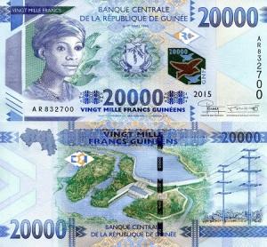 Guinea 20,000 Francs