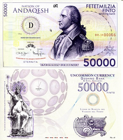 50,000 Finto Banknote