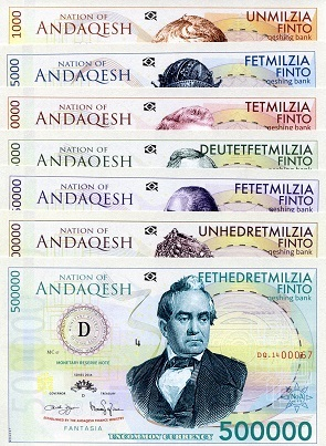 Set of Nation of Andaqesh Notes