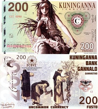 Kuninganna Territory 200 Fusto