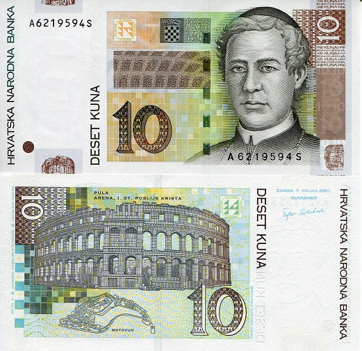 Croatia 10 Kuna p38a
