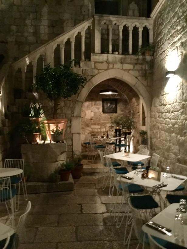 Cafe in Split, Croatia