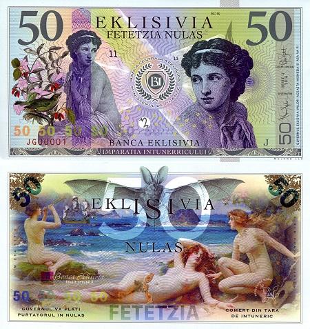 50 Nula Note Eklisivia - Mujand Banknote Series