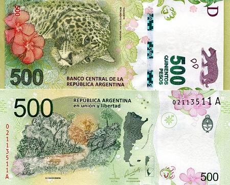 Argentina 500 Dollars