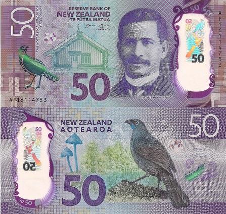 New Zealand 50 Dollars