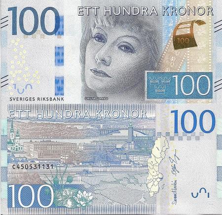 Sweden 100 Kronor