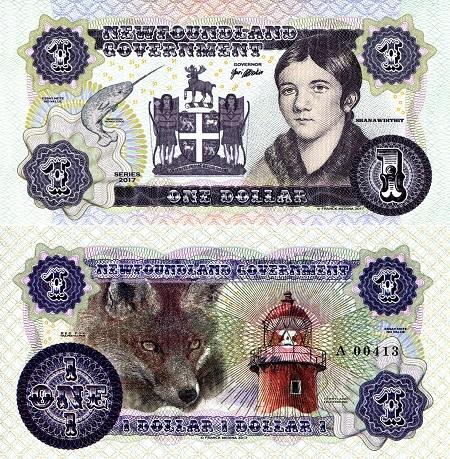 Newfoundland Dollar by Franck Medina
