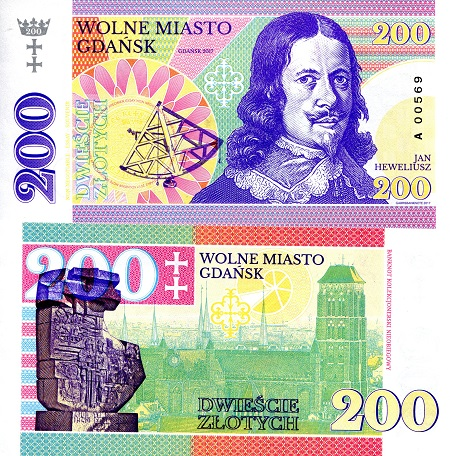 Poland 200 Zloty Fun note by Matej