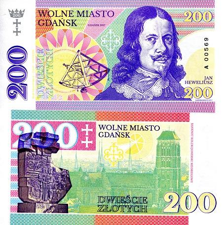 Poland 200 Zloty Fun note by Matej