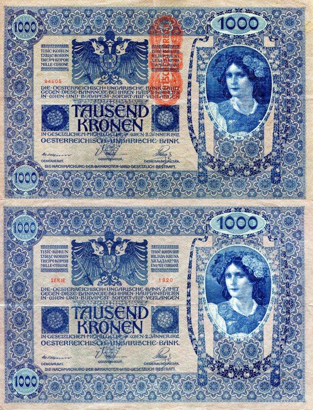 austria1000kronerp59-1919vg