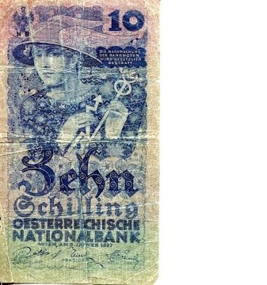 smallaustria10shillingsp94-1927vg