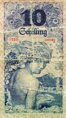 smallaustria10shillingsp94-1927vgback