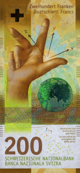 Switzerland 200 Franc Note