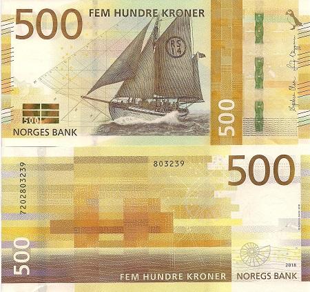 Norway 500 Kroner