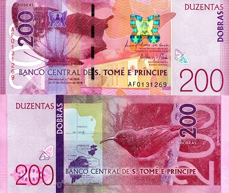 Sao Tome 200 Dobras