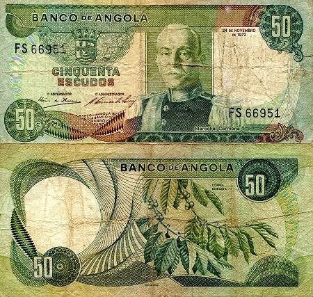 Angola 50 Escudos