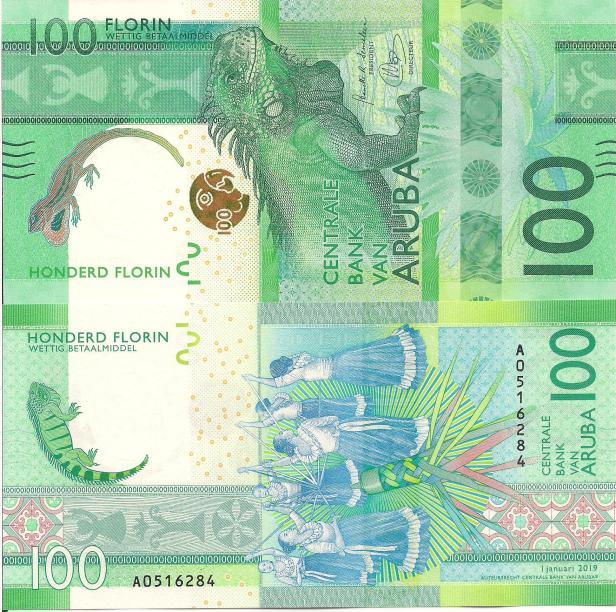 Aruba 100 Florins