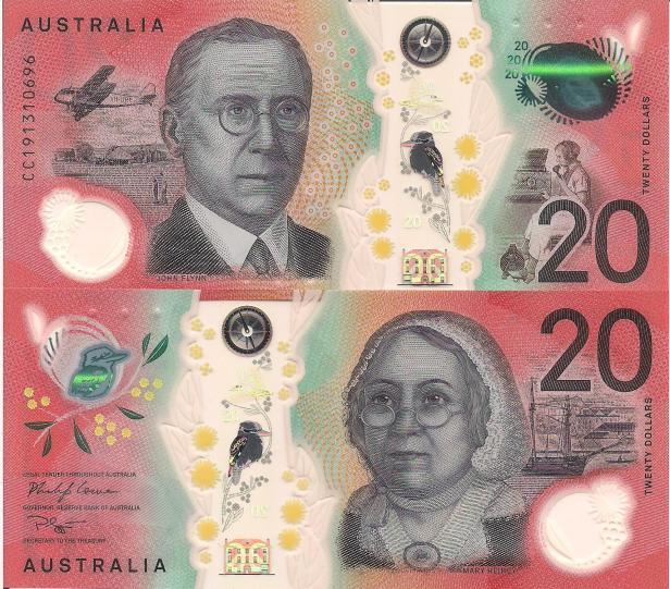 Australia 20 Dollar