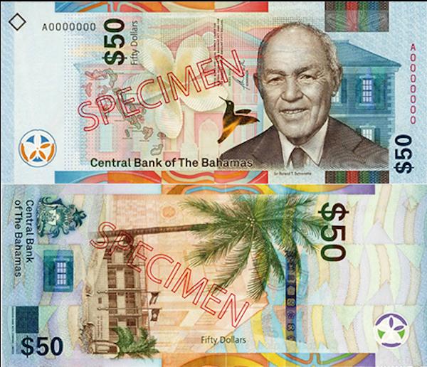 Bahamas 50 Dollar