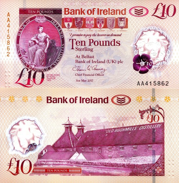 Northern Ireland (Bank of Ireland) 10 Pound
